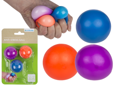 Antistress-Ball, Squeeze, ca. 3,5 cm,