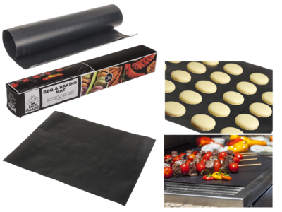 BBQ & baking mat, Set of 3,