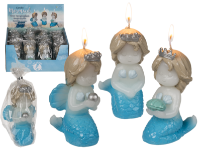 Candle, Mermaid,
