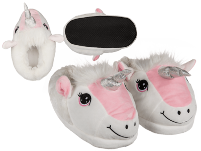 Chaussons confortable, Licorne,