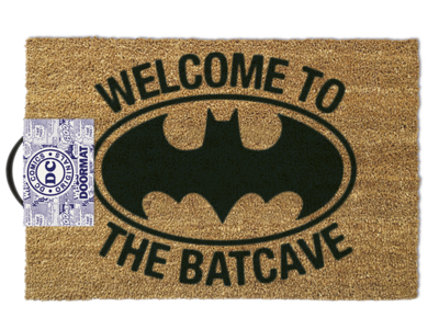 Essuie-pieds, Batman - Welcome to the batcave,