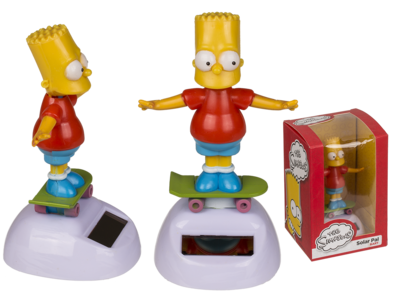 Figura con movimiento, Bart Simpson,