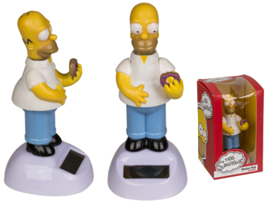 Figura con movimiento, Homer Simpson,