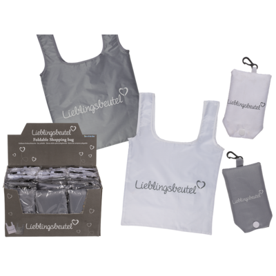 Foldable shopping bag, Lieblingsbeutel,
