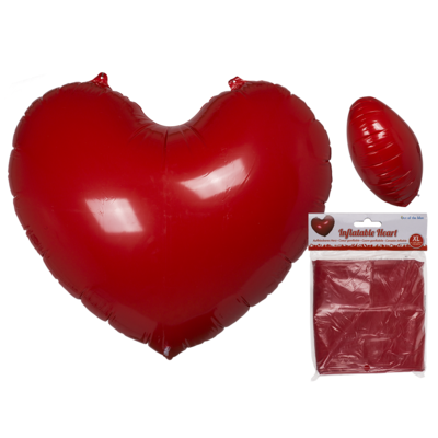 Inflatable heart,