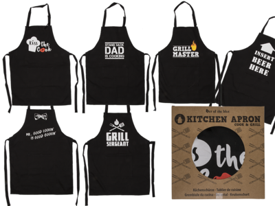 Kitchen apron, Cook & Grill,