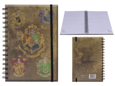 Libreta espiral, Harry Potter,