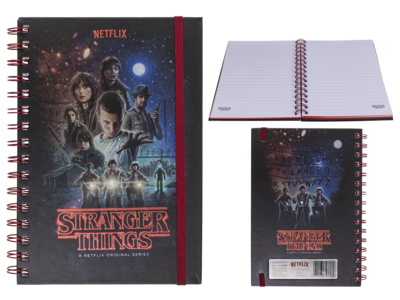 Libreta espiral, Stranger Things,