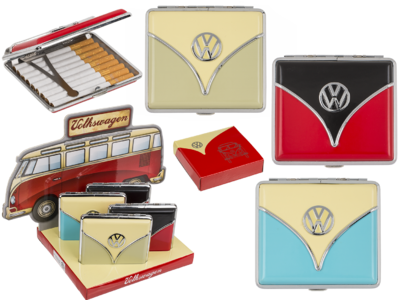 Metal cigarette case, VW Samba,