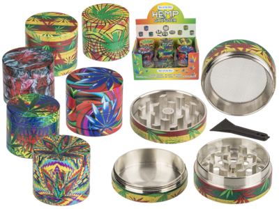 Metal grinder, Cannabis,