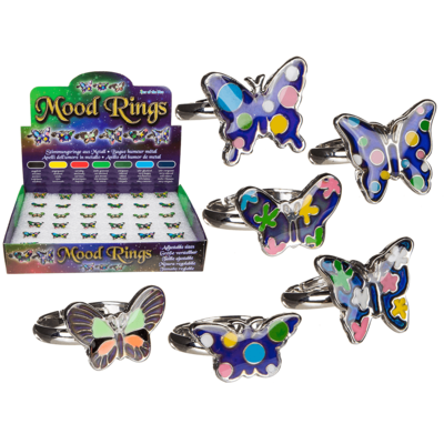 Mood Ring, Butterfly,