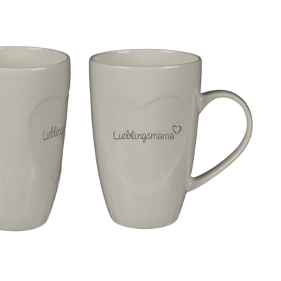 New Bone China mug, Lieblingsmama,