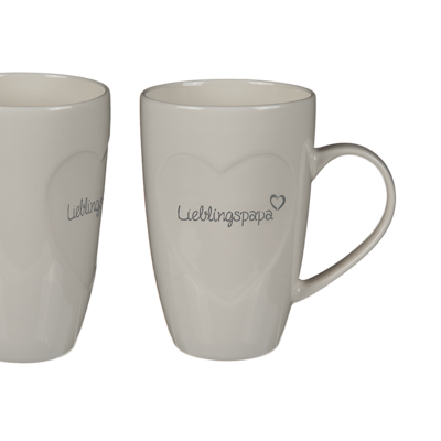 New Bone China mug, Lieblingspapa,