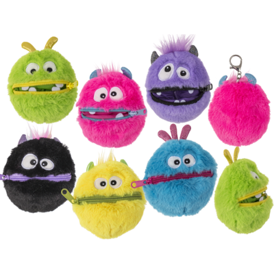 Worry Monster de peluche, aprox. 9 cm,