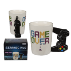 Becher, Game Over mit Controller-Griff,