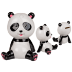 Ceramic savings bank, Panda Bear,