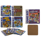 Cork coasters, Gameboy - Classic Collection,