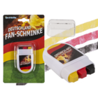 Fan face paint in crayon case, Germany flag,