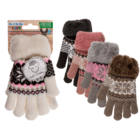 Kids comfort gloves, Ice Flower,
