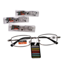 Reading Glasses with Metal Frame in PVC case,