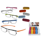 Reading glasses with plastic frame, Colour Style,